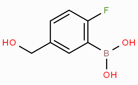 2-Fluoro-5-(hydroxymethyl)phenylboronic acid