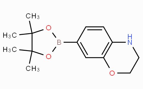 7-(4,4,5,5-四甲基-1,3,2-二氧杂硼杂环戊烷-2-基)-3,4-二氢-2H-苯并[b] [1,4]恶嗪