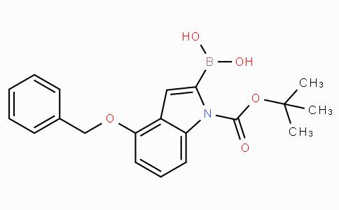 4-Benzyloxy-1-tert-butoxycarbonylindole-2-boronic acid