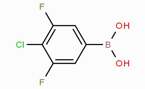 3,5-二氟-4-氯苯硼酸