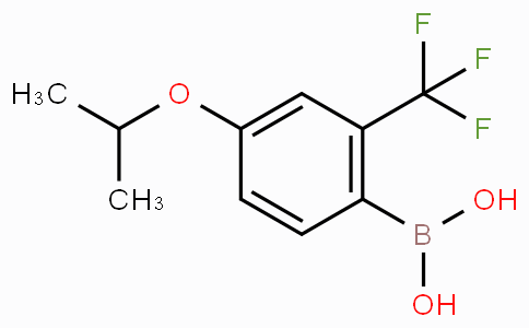 4-Isopropoxy-2-(trifluoromethyl)phenylboronic acid