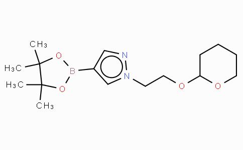 1-(2-(Tetrahydro-2H-pyran-2-yloxy)ethyl)-1H-4-pyrazole boronic acid pinacol ester