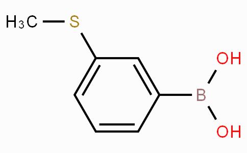 3-(甲硫基)苯硼酸(含有数量不等的酸酐)