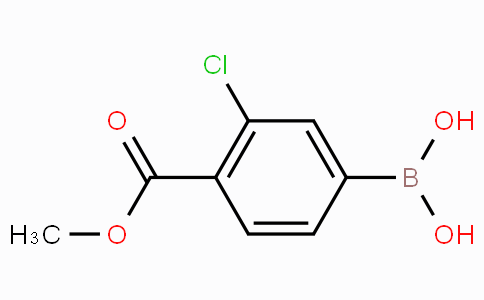 3-Chloro-4-(methoxycarbonyl)phenylboronic acid