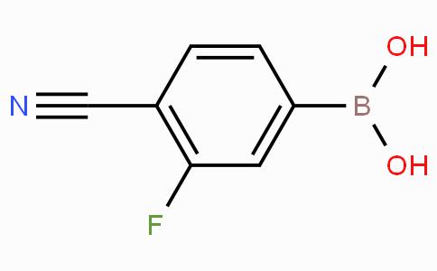 4-氰基-3-氟苯硼酸
