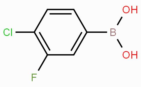 4-Chloro-3-fluorobenzeneboronic acid