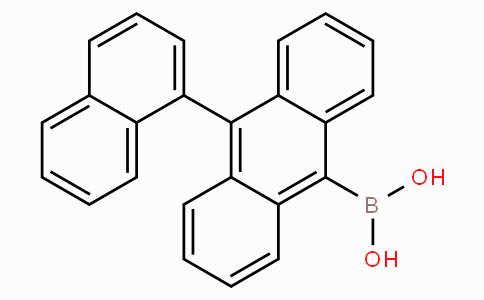 [10-(1-Naphthalenyl)-9-anthracenyl]boronic acid