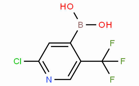 2-Chloro-5-(trifluoromethyl)pyridine-4-boronic acid
