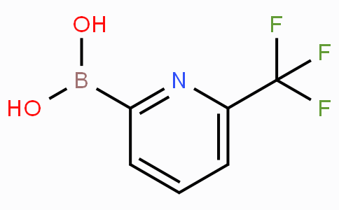 6-(Trifluoromethyl)pyridin-2-boronic acid