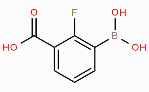 2-Fluoro-3-carboxyphenylboronic acid