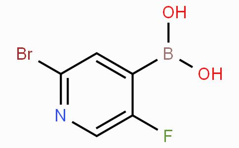 2-Bromo-5-fluoropyridine-4-boronic acid