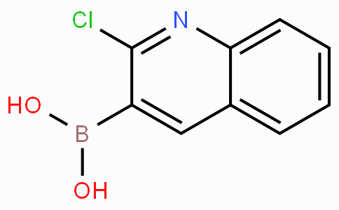 2-氯喹啉-3-硼酸