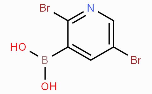 2,5-Dibromopyridine-3-boronic acid