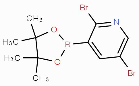 2,5-Dibromopyridine-3-boronic acid pinacol ester