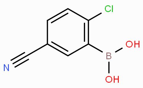 2-氯-5-氰基苯硼酸