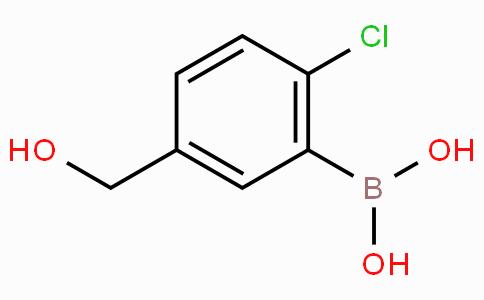 2-氯-5-羟甲基苯硼酸