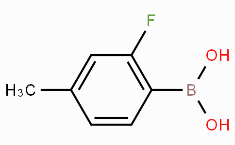 2-Fluoro-4-methylphenylboronic acid