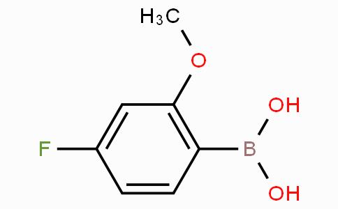 4-氟-2-甲氧基苯硼酸