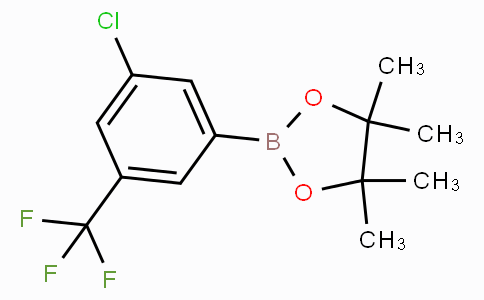 3-Chloro-5-(trifluoromethyl)phenylboronic acid pinacol ester