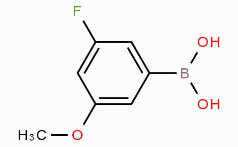 3-Fluoro-5-methoxyphenylboronic acid