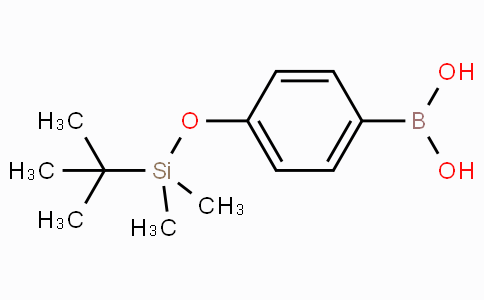 4-(Tert-butyl dimethylsiloxy)phenyl boronic acid
