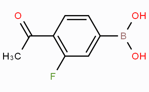 4-Acetyl-3-fluorophenylboronic acid