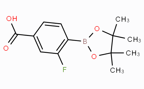 4-Carboxy-2-fluorophenylboronic acid pinacol ester
