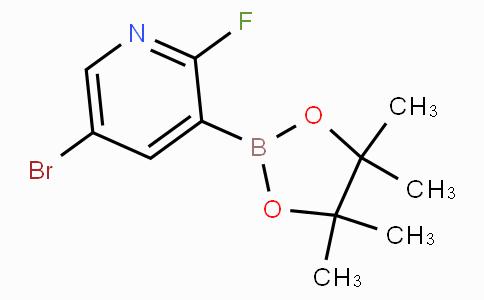 5-Bromo-2-fluoropyridine-3-boronic acid pinacol ester