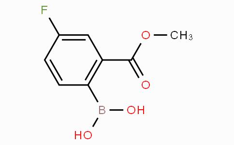 4-Fluoro-2-methoxycarbonylphenylboronic acid