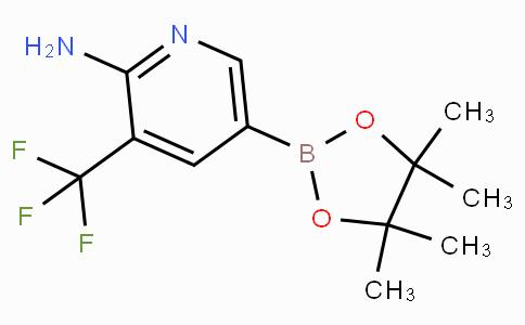 2-Amino-3-(trifluoromethyl)pyridine-5-boronic acid pinacol ester
