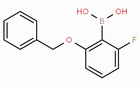 2-Benzyloxy-6-fluorophenylboronic acid