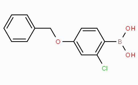 4-Benzyloxy-2-chlorophenylboronic acid