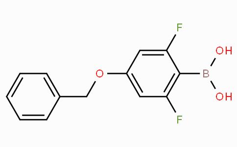 4-Benzyloxy-2,6-difluorophenylboronic acid