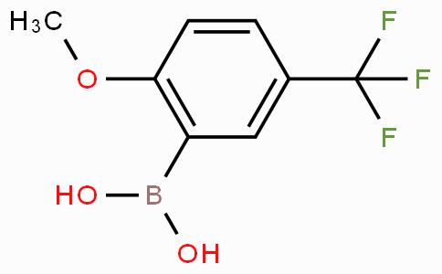 2-Methoxy-5-(trifluoromethyl)phenylboronic acid