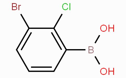 (3-溴-2-氯-苯基)硼酸