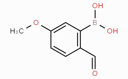 5-Methoxy-2-formylphenylboronic acid