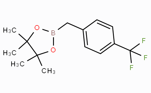 4-(Trifluoromethyl)benzylboronic acid pinacol ester