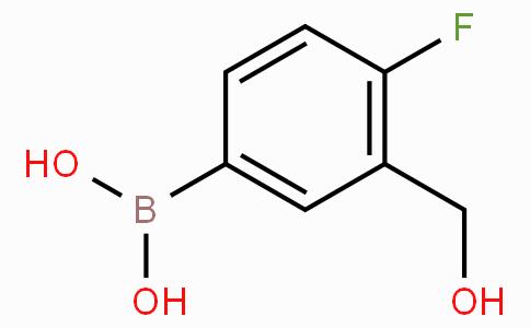 4-氟-3-(羟甲基)苯基硼酸