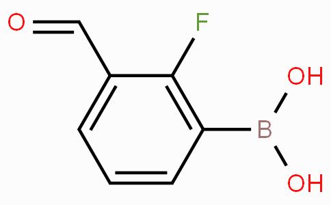2-Fluoro-3-formylphenylboronic acid