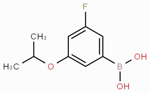 3-Fluoro-5-isopropoxybenzeneboronic acid