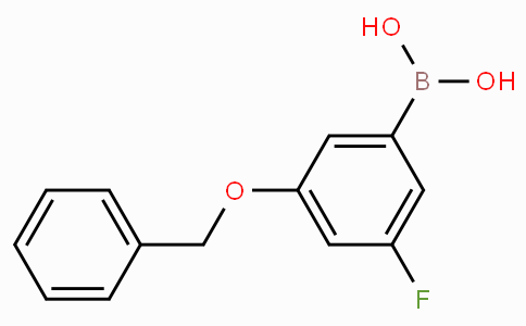 3-Benzyloxy-5-fluorobenzeneboronic acid