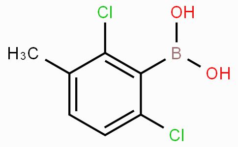 2,6-Dichloro-3-methylphenylboronic acid