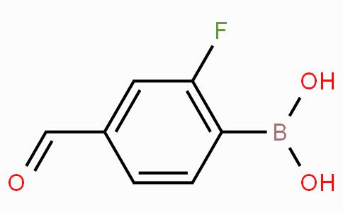 2-Fluoro-4-formylbenzeneboronic acid