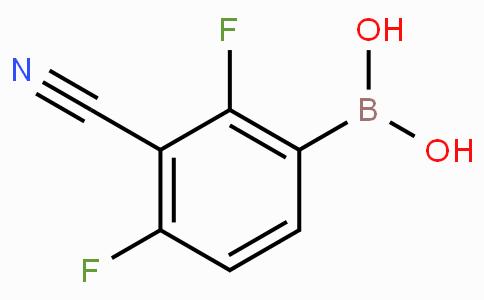 2,4-Difluoro-3-cyanophenylboronic acid