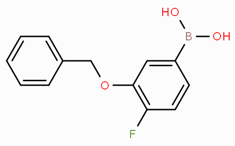 3-Benzyloxy-4-fluorophenylboronic acid