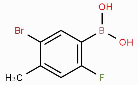 5-Bromo-2-fluoro-4-methylphenylboronic acid