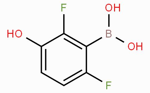 2,6-Difluoro-3-hydroxybenzeneboronic acid