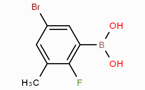 5-Bromo-2-fluoro-3-methylphenylboronic acid