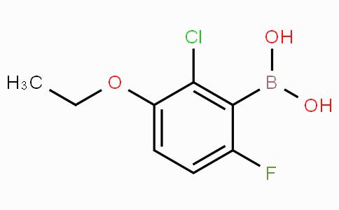 2-Chloro-3-ethoxy-6-fluorophenylboronic acid