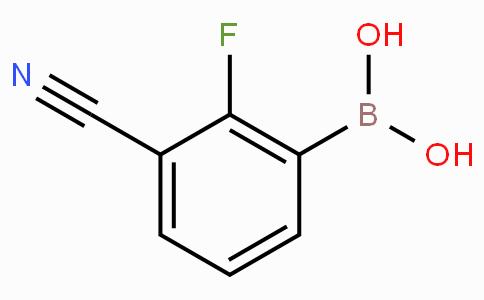 3-Cyano-2-fluorophenylboronic acid
